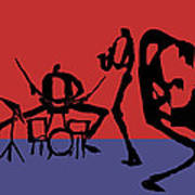 Jammin Jazz Quintet Poster