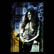 Janis Joplin - Blue Poster
