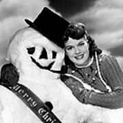 Janis Paige Offering Christmas Poster