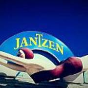 Jantzen Girl Poster by Gail Lawnicki