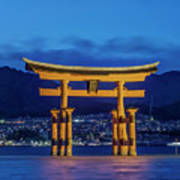 Japan, Miyajima, Itsukushima Shrine Poster