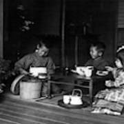 Japan Tea Party Poster