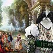 Japanese Chin Art Canvas Print Poster