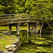 Japanese Garden Tokyo Poster