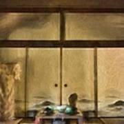 Japanese Tea Room Poster