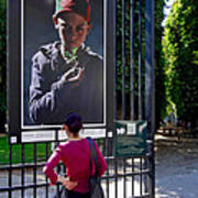 Jardin Du Luxembourg Paris Poster