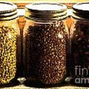 Jars On Sill Poster