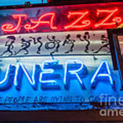 Jazz Funeral And Lamp Nola Poster