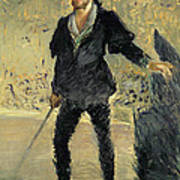 Jean Baptiste Faure In The Opera Hamlet By Ambroise Thomas Poster
