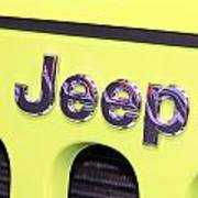 Jeep Logo Poster