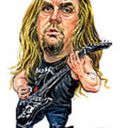 Jeff Hanneman Poster by Art