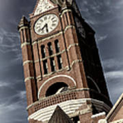Jefferson County Courthouse Clock Tower Poster