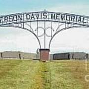 Jefferson  Davis Memorial Park Poster