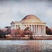 Jefferson Memorial In Dc Poster