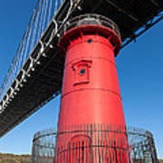 Jeffrey's Hook Lighthouse I Poster