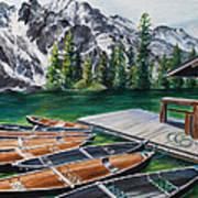Jenny Lake Poster