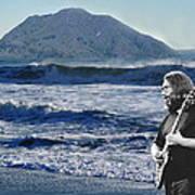 Jerry Garcia At Mt Tamalpaisland 3 Poster