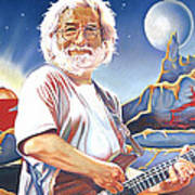 Jerry Garcia Live At The Mars Hotel Poster