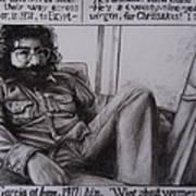 Jerry Garcia....taken From Rollingstone Interview 1972 Poster