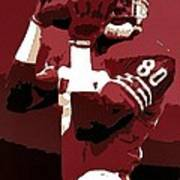Jerry Rice Poster Art Poster