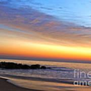 Jersey Shore Sunrise Poster