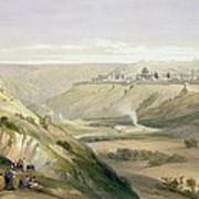 Jerusalem April 5th 1839 Poster by David Roberts