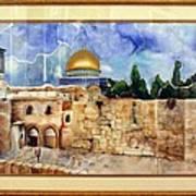 Jerusalem Cradle Of Civilization Poster