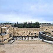 Jerusalem The Western Wall Poster