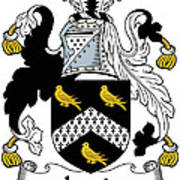 Jervis Coat Of Arms Irish Poster
