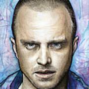 Jesse Pinkman - Breaking Bad Poster by Olga Shvartsur