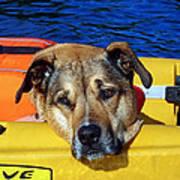 Jessie Kayaking Poster