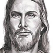 Jesus Christ Poster by Michael Mestas