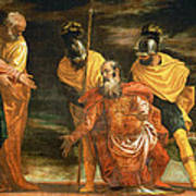 Jesus Healing The Servant Of A Centurion Poster