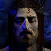 Jesus In Death Poster