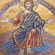 Jesus Mosaics Poster
