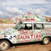 Jesus Wagon Poster
