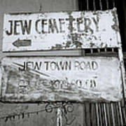 Jew Town In Cochin Poster