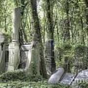 Jewish Cemetery Weissensee Berlin Poster