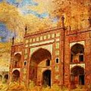 Jhangir Tomb Poster by Catf