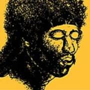 Jimi Hendrix Rock Music Poster Poster