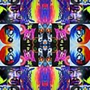 Jimi Kaleidoscope I Poster