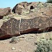 Jitterbug Petroglyph Poster