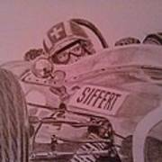 Jo Siffert And His Brabham Bt11 Poster