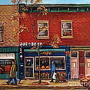 Joe Beef Restaurant Montreal Poster