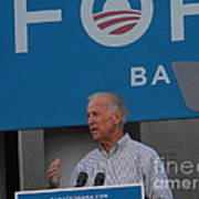 Joe Biden Poster by Lisa Gifford