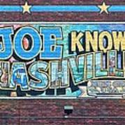 Joe Knows Nashville Poster