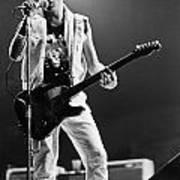 Joe Strummer At Clash Final Concert Poster