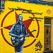 Joe Strummer Without People You're Nothing Poster