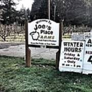 Joe's Place Farms Poster