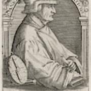 Johann Stoffler (1452 - 1531) German Poster